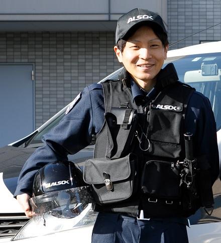日本ガード_先輩社員②(機械警備)
